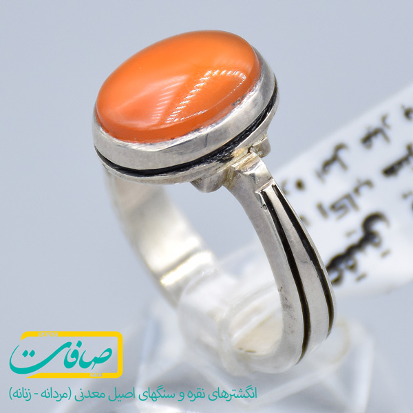 انگشتر نقره عقیق یمنی